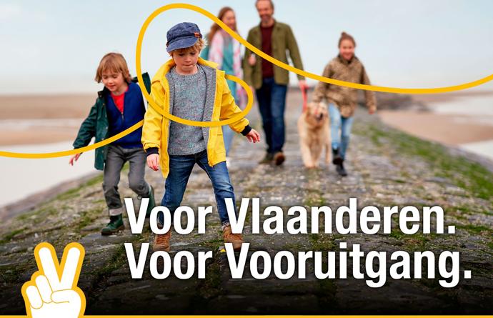 Voor Vlaanderen. Voor Vooruitgang.